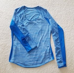 Athleta Form Fitted Long Sleve Top